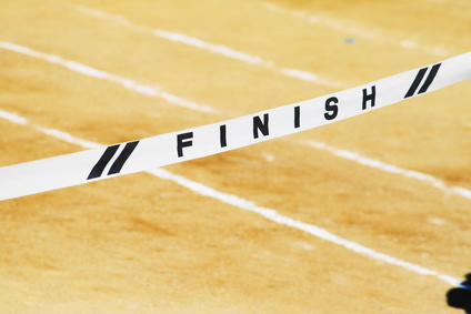 The Finish Line ~ Writing Life